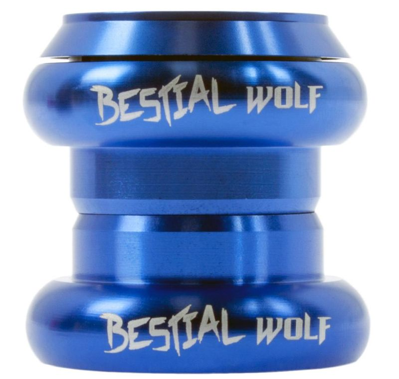 Bestial Wolf Headset Blue