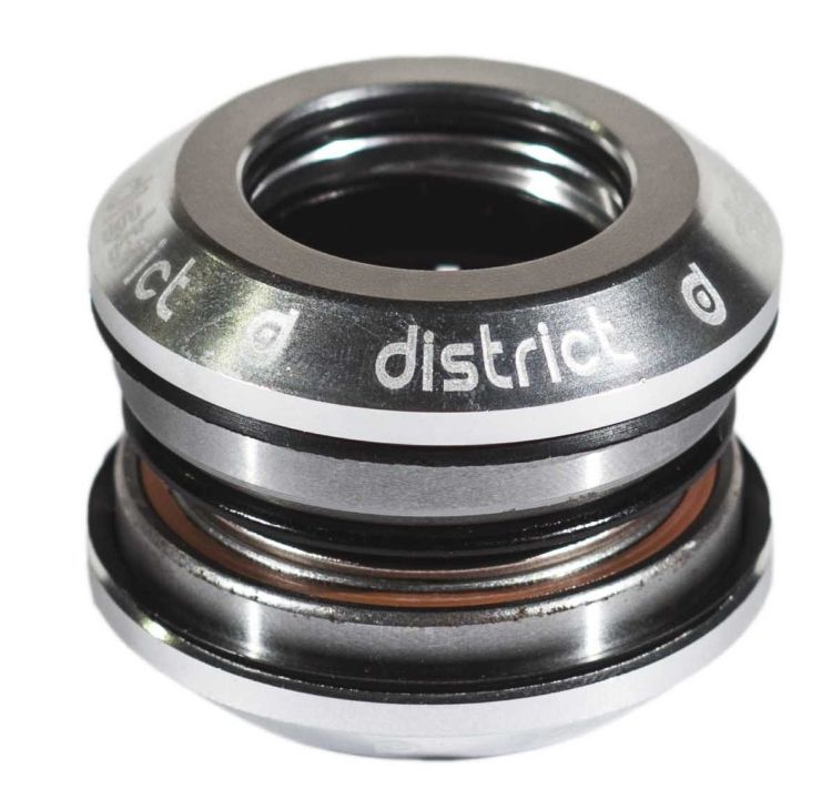 District S-Series Integrated Headset Silver
